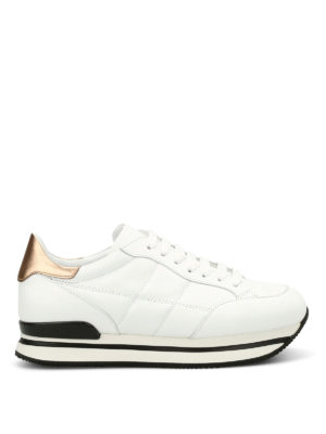 Hogan: trainers - H222 quilted leather sneakers