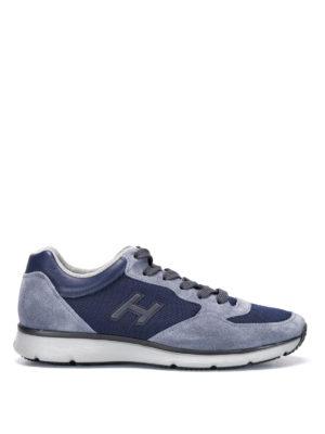 Hogan: trainers - H254 H Flock sneakers