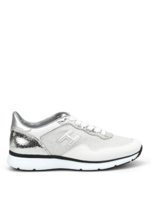 Hogan: trainers - H254 unlined shimmering sneakers