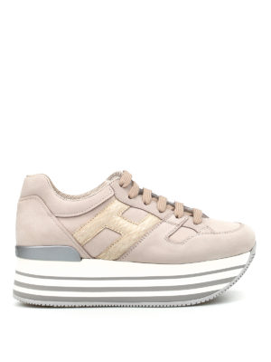 Hogan: trainers - H283 Maxi sole sneakers