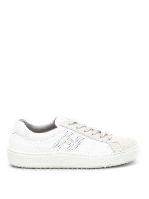 Hogan: trainers - H302 leather and suede sneakers