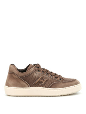 Hogan: trainers - H302 nubuck sneakers