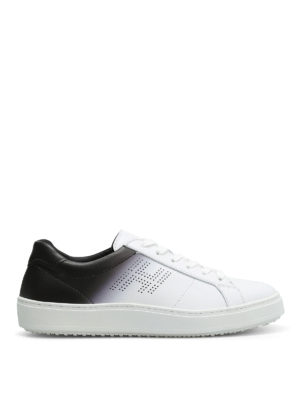 Hogan: trainers - H302 shaded leather sneakers