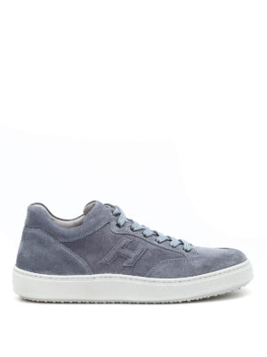 Hogan: trainers - H302 suede sneakers