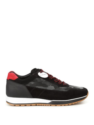 Hogan: trainers - H321 camu panelled sneakers