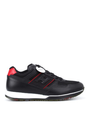 Hogan: trainers - H321 leather sneakers