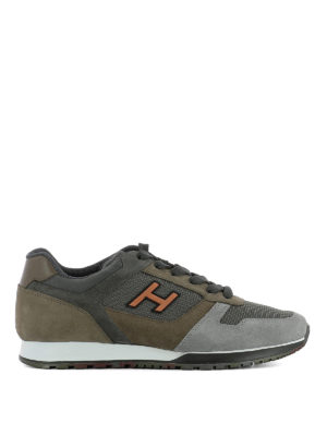 Hogan: trainers - H321 multi fabric sneakers