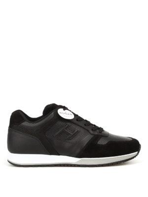 HOGAN: sneakers - Sneaker H321 in pelle traforata