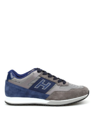 Hogan: trainers - H321 suede sneakers