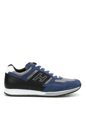Hogan: trainers - H321 suede sneakers
