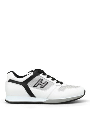 Hogan: trainers - H321 two-tone leather sneakers