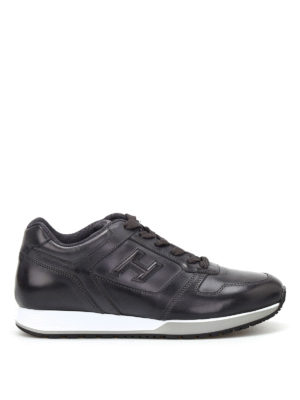 Hogan: trainers - H321 vintage leather sneakers