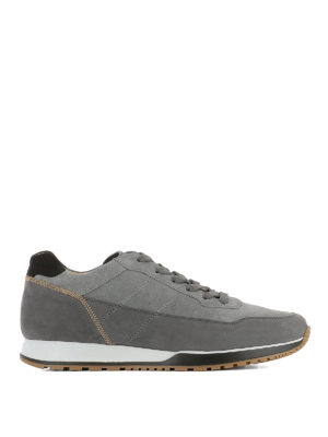 Hogan: trainers - H321 visible stitching sneakers