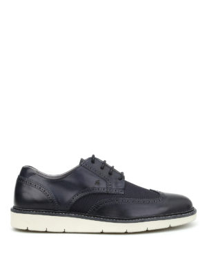 Hogan: trainers - H322 leather derby shoes