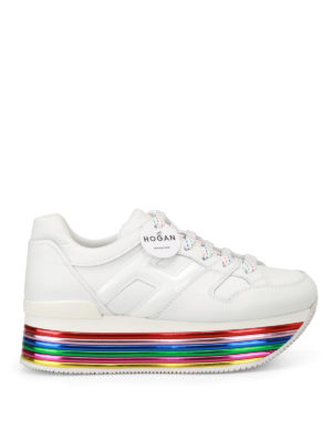 Hogan: trainers - H325 multicolour sole sneakers