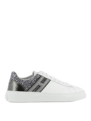 Hogan: trainers - H340 embellished back sneakers