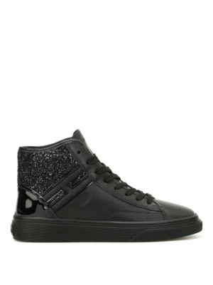 Hogan: trainers - H340 glitter low top sneakers