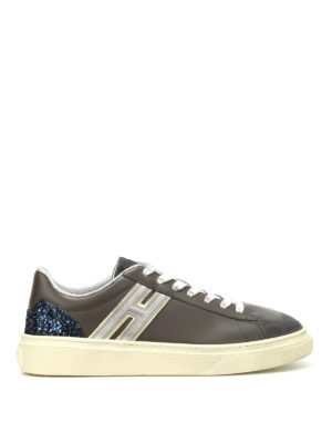 Hogan: trainers - H340 leather and nubuck sneakers