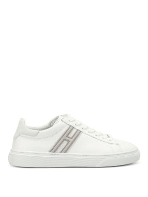 Hogan: trainers - H340 leather low top trainers