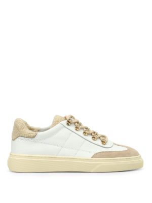 Hogan: trainers - H340 low top leather sneakers