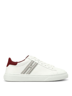 Hogan: trainers - H340 low top white sneakers