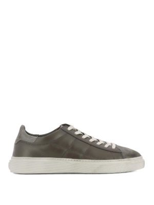 Hogan: trainers - H340 vintage effect sneakers