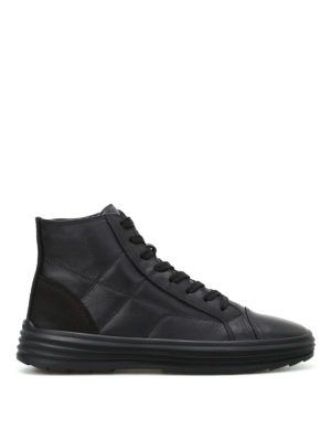 Hogan: trainers - H341 Helix hi-top leather sneakers