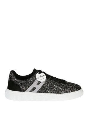 HOGAN: sneakers - Sneaker H365 glitterate
