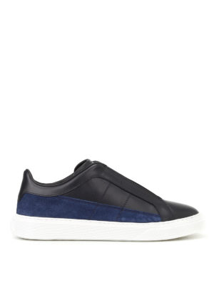 Hogan: trainers - H365 leather and suede slip-ons