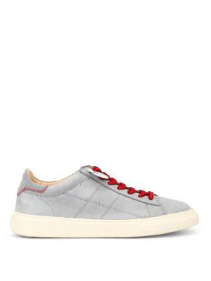 HOGAN: sneakers - Sneaker basse in nabuck H365