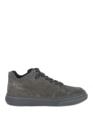 HOGAN: sneakers - Sneaker H365 in camoscio