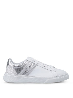 Hogan: trainers - H365 two-tone leather sneakers