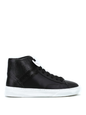 HOGAN: sneakers - Sneaker high-top H366 in pelle