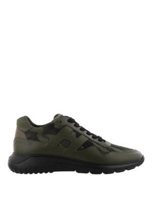 HOGAN: sneakers - Sneaker Interactive³ verdi militare
