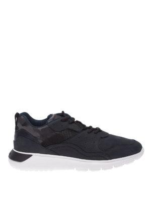 1879905c7b286 HOGAN  sneakers - Sneaker Interactive³ in nabuk blu
