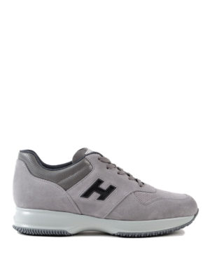 Hogan: trainers - Interactive contrasting H sneakers