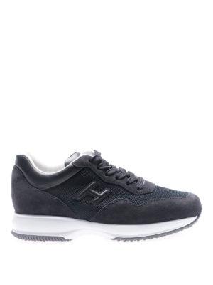 Hogan: trainers - Interactive dark blue sneakers