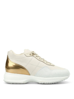 Hogan: trainers - Interactive faux fur lined sneakers