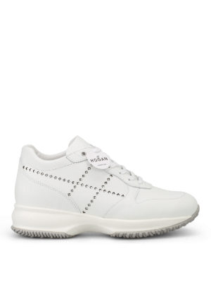 Hogan: trainers - Interactive laminated H sneakers