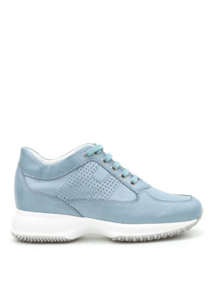 Hogan: trainers - Interactive leather sneakers