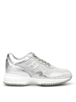 Hogan: trainers - Interactive lurex sneakers