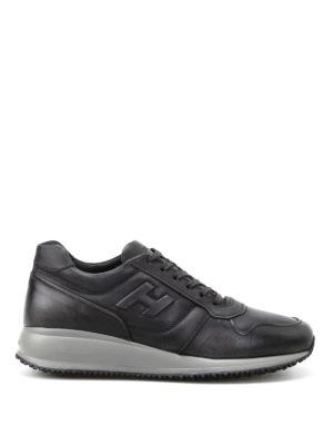 Hogan: trainers - Interactive N20 dark grey sneakers