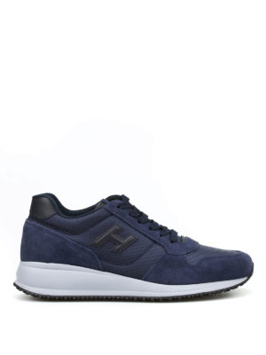 Hogan: trainers - Interactive N20 H 3D suede trainers
