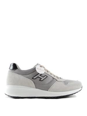 Hogan: trainers - Interactive N20 H Flock sneakers