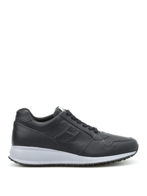 Hogan: trainers - Interactive N20 leather sneakers