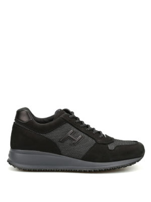 Hogan: trainers - Interactive N20 nubuck sneakers