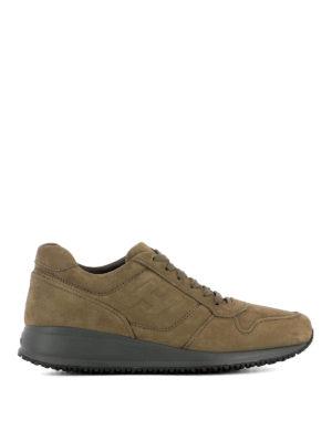 Hogan: trainers - Interactive N20 nubuck sneakers