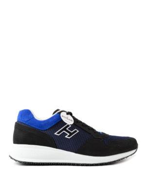 Hogan: trainers - Interactive N20 suede sneakers