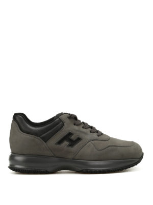 Hogan: trainers - Interactive nubuck sneakers