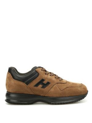 Hogan: trainers - Interactive nubuck sneakers